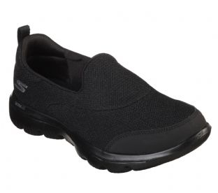 Skechers Womens 15730 BBK Black GOwalk Evolution Ultra Trainers